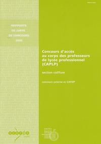 Michel Gavrilovic - CAPLP section coiffure - Concours externe et CAFEP.
