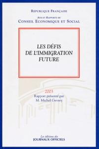 Deedr.fr Les défis de l'immigration future - Séance des 28 et 29 octobre 2003 Image