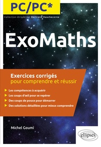 Deedr.fr ExoMaths PC/PC* - Exercices corrigés pour comprendre et réussir Image