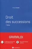 Michel Grimaldi - Droit des successions.