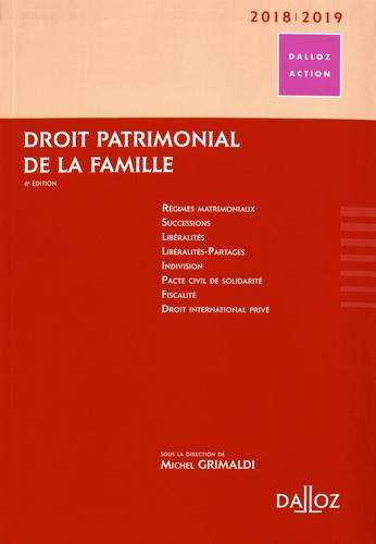 Michel Grimaldi - Droit patrimonial de la famille.
