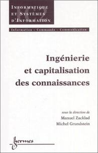 Michel Grundstein et Manuel Zacklad - Ingénierie et capitalisation des connaissances.