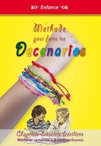 Michel Gurnaud - Méthode pour faire les Decenarios - Chapelets bracelets brésiliens, Méthode complète + 4 cordons fournis.