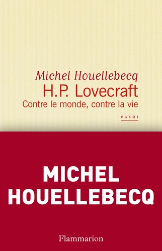 HP Lovecraft - Michel Houellebecq - Format PDF - 9782081258372 - 4,99 €