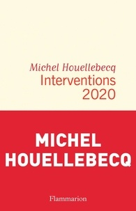 Michel Houellebecq - Interventions 2020.