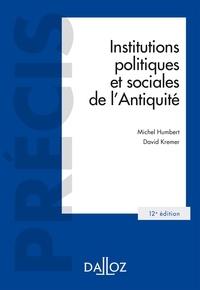 Michel Humbert et David Kremer - Institutions politiques et sociales de l'Antiquité.