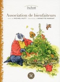 Michel Hutt et Annette Marnat - Association de bienfaiteurs.