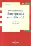 Michel Jeantin et Paul Le Cannu - Entreprises en difficulté - Droit commercial.
