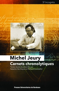 Michel Jeury - Carnets chronolytiques.