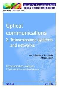 Michel Joindot - Optical communications 2.