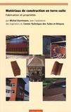 Michel Kornmann - Matériaux de construction en terre cuite - Fabrication et propriétés.