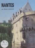 Michel Lascaux - Nantes - Le château et la cathédrale.