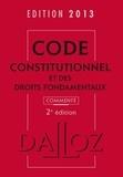 Michel Lascombe - Code constitutionnel et des droits fondamentaux 2013.