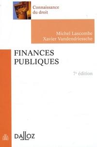 Michel Lascombe et Xavier Vandendriessche - Finances publiques.