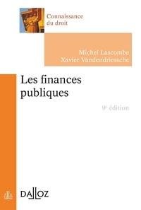 Michel Lascombe et Xavier Vandendriessche - Les finances publiques.