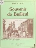 Michel Le Calvé - Souvenir de Bailleul.
