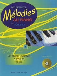 Michel Le Coz et Alain Siegel - Mes premiers morceaux classiques et jazz. 1 CD audio