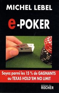 Michel Lebel - e-poker.