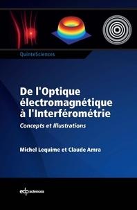 Michel Lequime et Claude Amra - De l'optique électromagnétique à l'interféromètre - Concepts et illustrations.