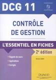 Michel Leroy - Contrôle de gestion DCG 11 - L'essentiel en fiches.
