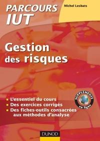 Michel Lesbats - Précis de Gestion des risques - Cours et exercices corrigés.