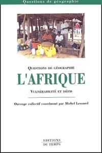Michel Lesourd - Afrique - Vulnérabilité et défis.