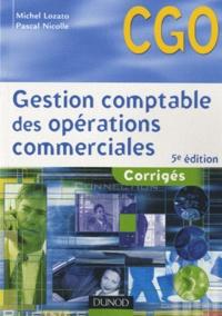 Rhonealpesinfo.fr Gestion comptable des opérations commerciales - Corrigés Image