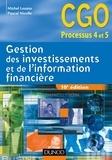 Michel Lozato et Pascal Nicolle - Gestion des investissements et de l'information financière - 10e édition - Manuel.