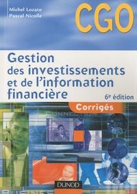 Gestion des investissements et de linformation financière - Corrigés Processus 4 et 5.pdf