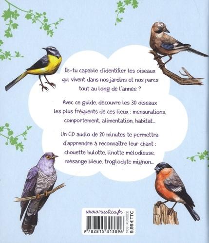 Reconnaître le chant des oiseaux du jardin  avec 1 CD audio