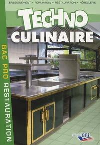 Michel Maincent - Techno culinaire Bac Pro.