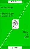 Michel Malherbe - Qu'est-ce que la causalité ? - Hume et Kant.