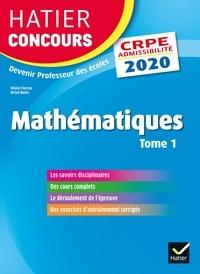 Mathématiques tome 1 - CRPE 2020 - Epreuve écrite d'admissibilité.