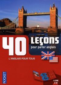 Michel Marcheteau - 40 Leçons pour parler anglais. 2 CD audio