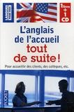 Michel Marcheteau - Coffret L'anglais de l'accueil tout de suite !. 1 CD audio