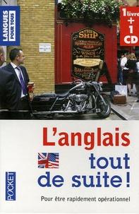 Michel Marcheteau et Jean Autret - L'anglais tout de suite !. 1 CD audio