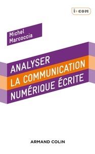 Michel Marcoccia - Analyser la communication électronique écrite.