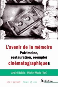 Michel Marie et André Habib - L'avenir de la mémoire - Patrimoine, restauration et réemploi cinématographiques.