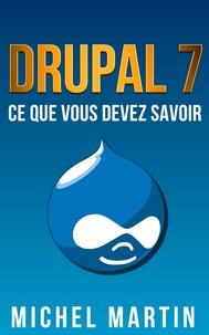 Michel Martin - Drupal 7.
