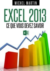 Michel Martin - Excel 2013.