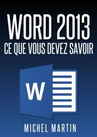 Michel Martin - Word 2013.