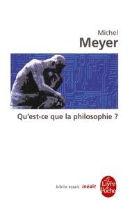 Michel Meyer - Qu'est-ce que la philosophie ? - Inédit.