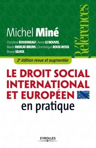 Michel Miné et Christine Boudineau - Le droit social international et européen en pratique.