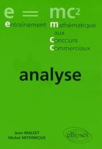 Michel Miternique et Jean Mallet - Analyse.