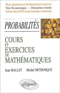 Cours et exercices de mathématiques. Tome 6, Probabilités.pdf
