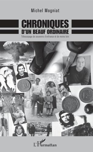 Michel Mogniat - Chroniques d'un beauf ordinaire - Télescopage de souvenirs d'enfrance et de moins loin.
