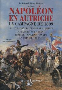 Michel Molières - La campagne de 1809 - Les opérations du 24 avril au 12 juillet.