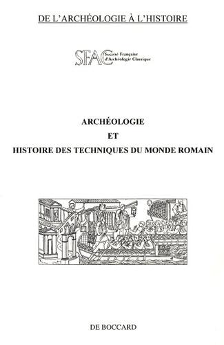 Michel Molin - Archéologie et histoire des techniques du monde romain.