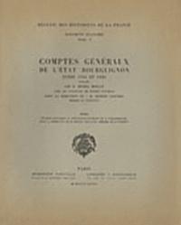 Michel Mollat - Comptes généraux de l'Etat bourguignon entre 1416 et 1420 - Index.