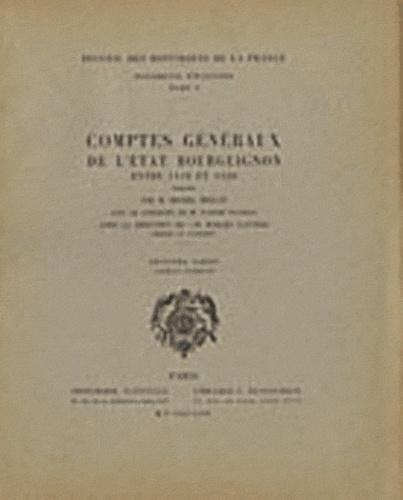Michel Mollat - Comptes généraux de l'Etat bourguignon entre 1416 et 1420 - 2e partie (1er fascicule).